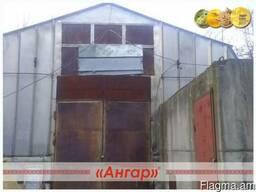 Ангар 12х30 шатровый бескаркасный демонтированный - фото 3