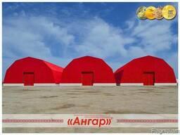 Ангары быстромонтируемые арочные, шатровые, прямостенные - фото 3