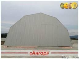 Ангары,склады,цеха,зернохранилища шириной 10-24м