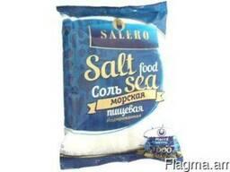 Cоль пищевая морская «Salero» йодированная