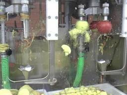 Машина для очистки, нарезания, удаления сердцевины яблок 500