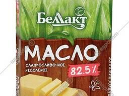 Масло сладкосливочное несоленое 82,5% ГОСТ в/с 180гр.