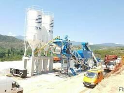 Мобильный бетонный завод М-100 SNG