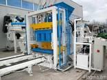 Стационарный вибропресс по производству блоков SUMAB Е-400 - фото 1