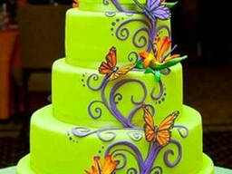 The preparation and decoration of cakes Torteri dzevavorman