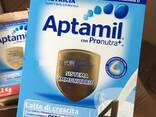 All languages Available Aptamil Baby Milk Stage 1,2,3 - фото 1
