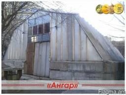 Ангар 12х30 шатровый бескаркасный демонтированный - photo 2