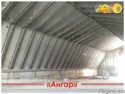 Ангар 12х30 шатровый бескаркасный демонтированный - photo 4