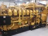 Б/У газовый двигатель Caterpillar 3520, 2014 г. ,2 Мвт - photo 3