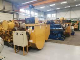 Б/У газовый двигатель Caterpillar 3516, 1998 г. в. 1 000 Квт