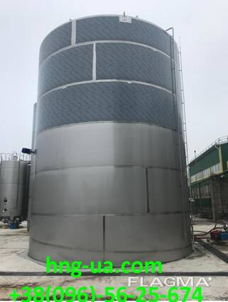 Capacity from stainless steel (AISI304) with a volume of 300