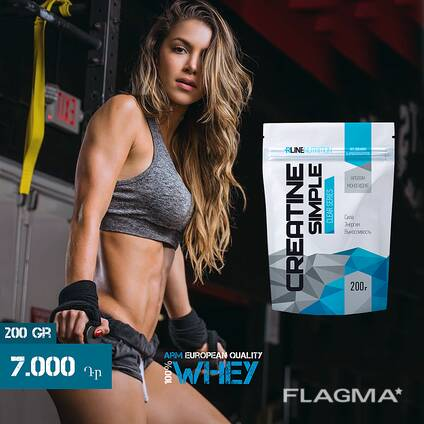 Creatine Simple Monohydrate 100% - Креатин моногидрат 200 Gr