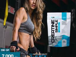 Creatine Simple Monohydrate 100% - Креатин моногидрат 200 Gr
