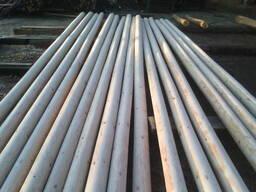 Деревянные опоры для линий электропередачи и линий связи