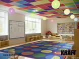 Դիզայներական կախովի առաստաղներ KRAFT արտադրողից (Ուկրաինա) - photo 4