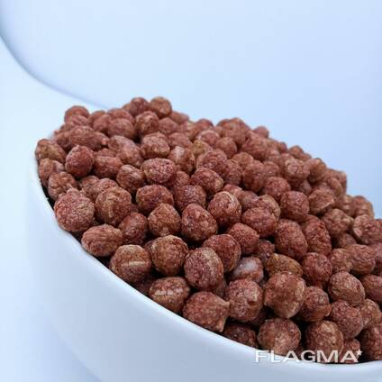 Кукурузные шарики со вкусом какао