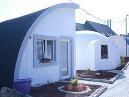 Купольные дома из пенаполистирола за 3-5 месяцев - фото 8