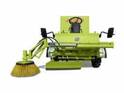 Машина для уборки и подготовки новой подстилки Storti Италия