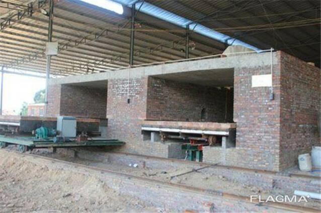 Мини туннельная печь для обжига кирпича кирпич завод подключ