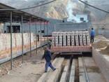 Мини туннельная печь для обжига кирпича кирпич завод подключ - фото 4