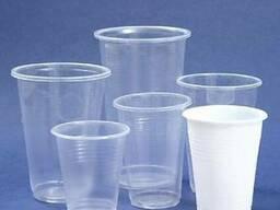 Одноразовый пластиковый пивные стаканы в разных размерах