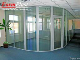 Միջնորմներ - Офисные перегородки из ПВХ - Farmplast