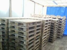Поддон, паллет деревянный 800х1200,1000х1200 нов. и б/у - фото 8