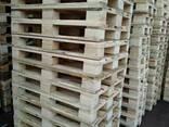 Поддон, паллет деревянный 800х1200 нов. и б/у - фото 2