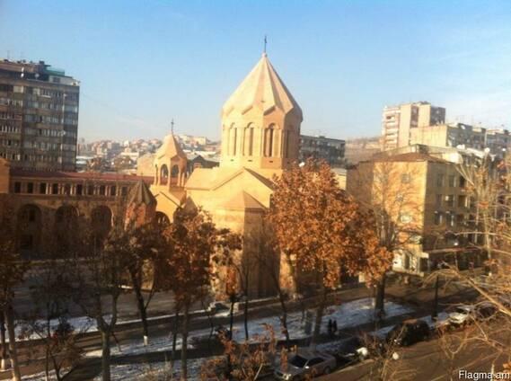 Сдам 1 комнат кв передел на 2 ух малый центр Ереван