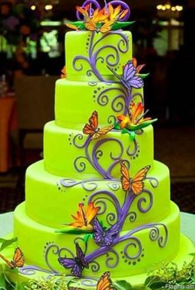 The preparation and decoration of cakes Torteri dzevavorman